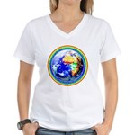 Autistic Planet Women's V-Neck T-Shirt