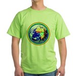 Autistic Planet Green T-Shirt