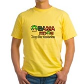 2up for America Yellow T-Shirt