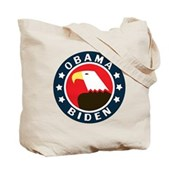 Obama-Biden Eagle Tote Bag