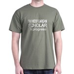 Shakespearean Scholar Dark T-Shirt