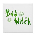 Bad Witch Tile Coaster