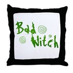 Bad Witch Throw Pillow