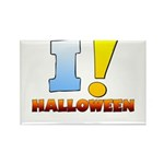 I ! Halloween Rectangle Magnet (10 pack)