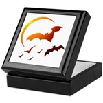 Flying Vampire Bats Keepsake Box