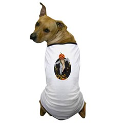 Autumn Scarecrow Dog T-Shirt