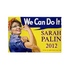 We Can Do It in 2012 Rectangle Magnet