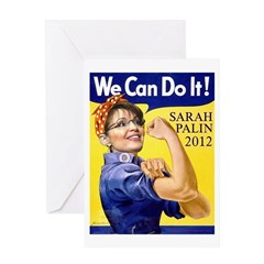 We Can Do It in 2012 Greeting Card