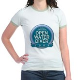 Open Water Diver 2009 Jr. Ringer T-Shirt