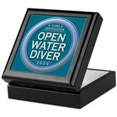 Open Water Diver 2009 Keepsake Box