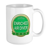  Nitrox Diver 2009 Large Mug
