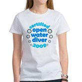Open Water Diver 2009 Women's T-Shirt