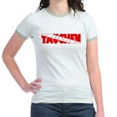 Tauchen German Scuba Flag Jr. Ringer T-Shirt