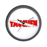 Tauchen German Scuba Flag Wall Clock