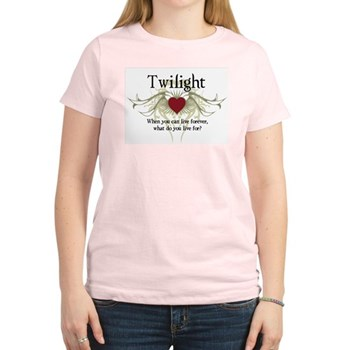 Twilight Live Forever Women's Light T-Shirt