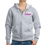 Retro I'm the Treat Women's Zip Hoodie