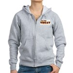 Glowing I'm the Treat Women's Zip Hoodie
