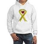 Keep My Grandson Safe Ribbon OIF Hooded Sweatshirt