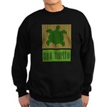 Bar Code Turtle Sweatshirt (dark)