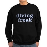 Diving Freak Sweatshirt (dark)
