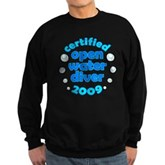 Open Water Diver 2009 Sweatshirt (dark)