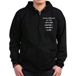 Woman-Haters Zip Hoodie (dark)