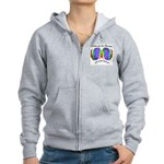 Celebrate Autistic Spectrum Women's Zip Hoodie