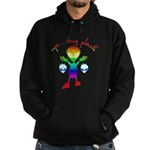 Wrong Planet Alien Hoodie (dark)
