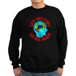 Keep Your Cures Sweatshirt (dark)
