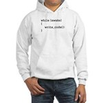 write_code() Hooded Sweatshirt