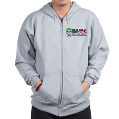 Obama 1up for America Zip Hoodie