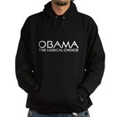 Logical Obama Hoodie (dark)