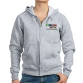 2up for America Women's Zip Hoodie
