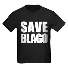 Save Illinois Governor Blagojevich, he's innocent! Kids Dark T-Shirt