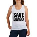 Save Illinois Governor Blagojevich, he's innocent! Women's Tank Top