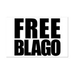 Free Illinois Governor Blagojevich, he's innocent! Mini Poster Print