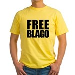 Free Illinois Governor Blagojevich, he's innocent! Yellow T-Shirt