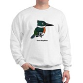 Green Kingfisher Sweatshirt