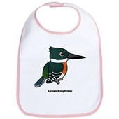 Green Kingfisher Bib