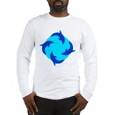 Dolphin Ring Long Sleeve T-Shirt