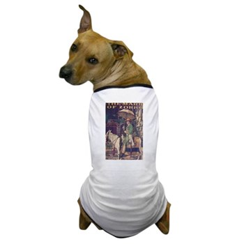 """The Mark of Zorro"" Dog T-Shirt"