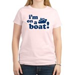 I'm on a Boat! Women's Light T-Shirt