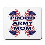 Patriotic Proud Army Mom Mousepad