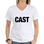 Cast Member T-Shirts Women's V-Neck T-Shirt