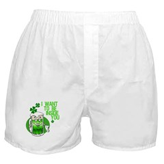 Funny Irish Beer Quote Boxer Shorts