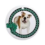 Irish Bulldog Ornament