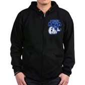 I Want Rush to Fail Zip Hoodie (dark)