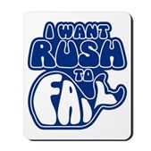 I Want Rush to Fail Mousepad