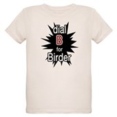 Dial B for Birder Organic Kids T-Shirt
