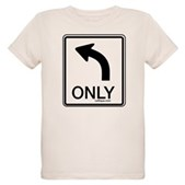 Left Only Organic Kids T-Shirt